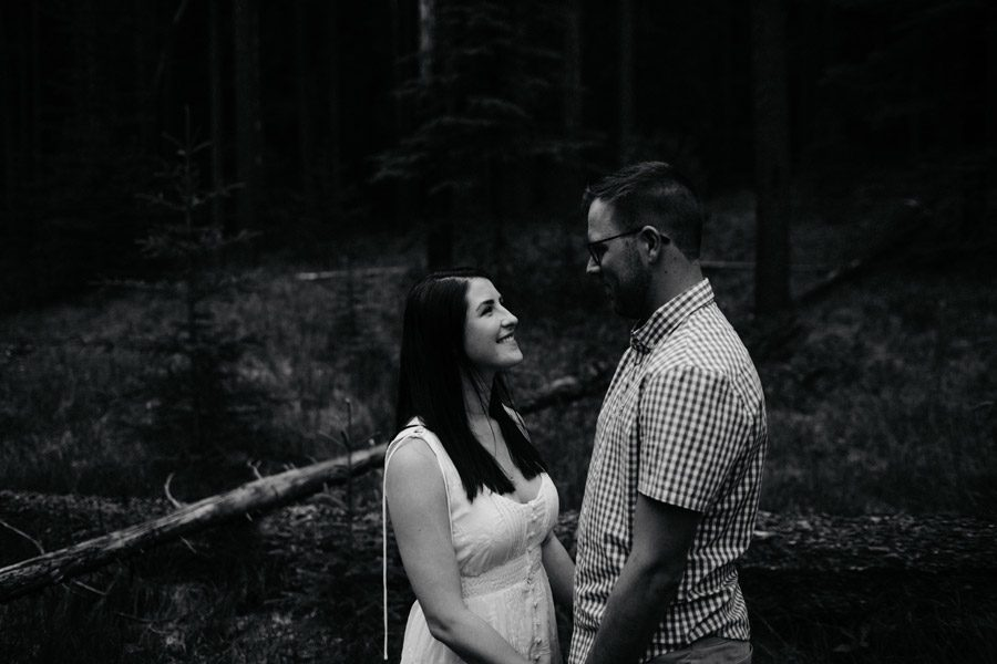 banff engagement session