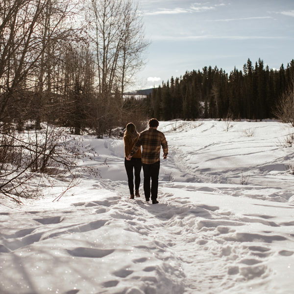 Bragg Creek Engagement Session