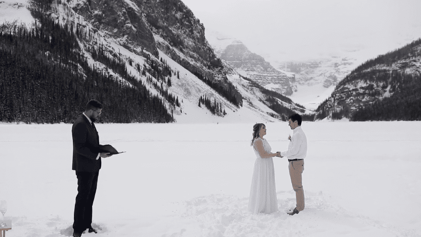 Nikki & Ryan - Lake Louise, AB.
